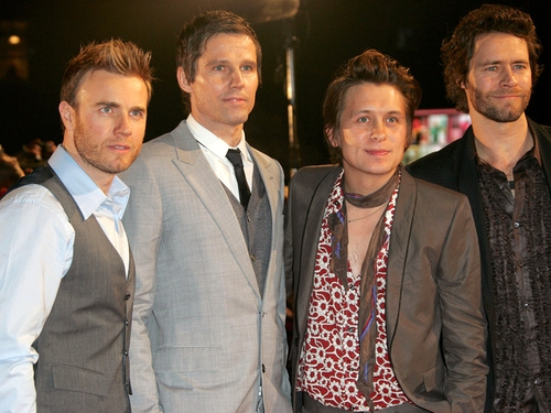 Take That - Will be chatting to Ryan Tubridy on Saturday night