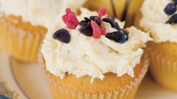 Lemon Cupcakes - Rachel suggests that these zesty little treats are ideal with an afternoon cup of tea.