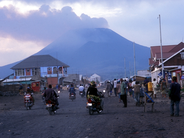 Goma - Congo rebel general held