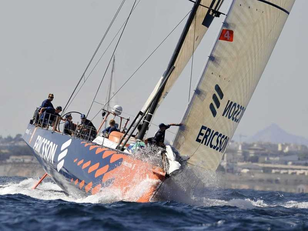 Ericsson 4 was the first of the seven boats to arrive in Cape Town