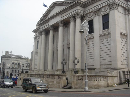 City Hall - Protests held over delay