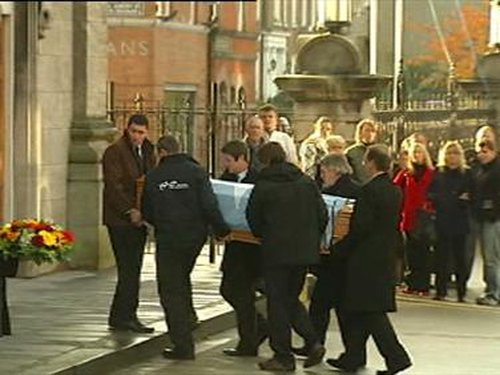 Geoghegan funeral - Firearm and ammunition seized as part of investigation