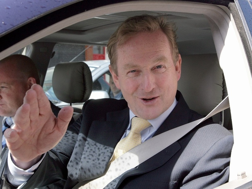 Enda Kenny - Distances FG from Flannery comment