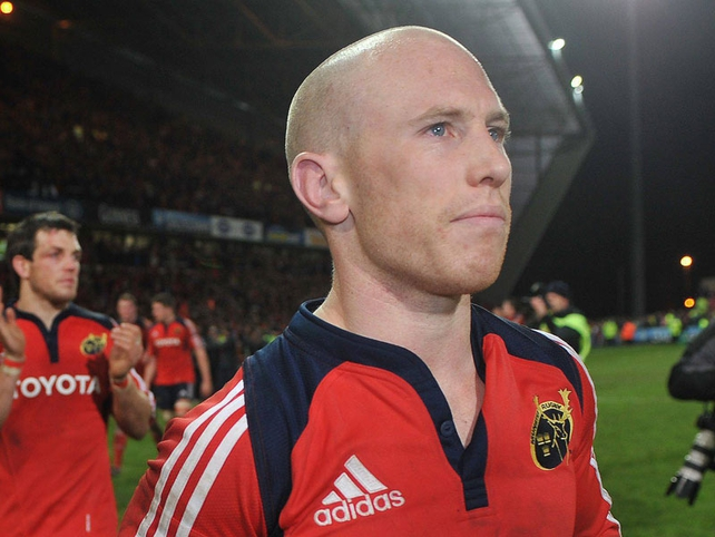 Peter Stringer will line out against Leinster at Croke Park