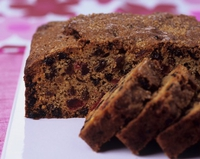 Madeira Fruit Cake - With Christmas fast approaching why not try a delicious and quick alternative to the traditional Christmas cake