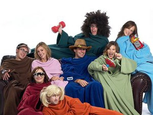 Cold weather - A blanket with sleeves may be the answer - Photo: slanket.com