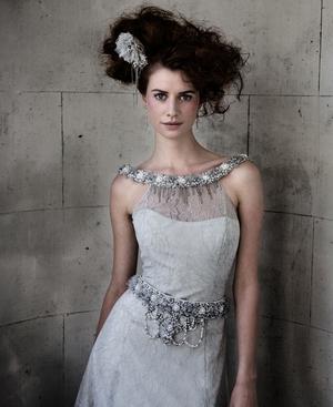 Irish model Faye Dinsmore