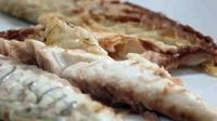 Dorade in a Salt Crust - Jessica Kuerten serves up Dorade in a Salt Crust with sauteed spinach and rosemary potatoes.