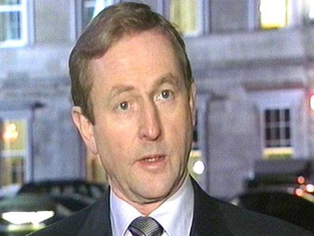 Enda Kenny - Fine Gael maintains lead