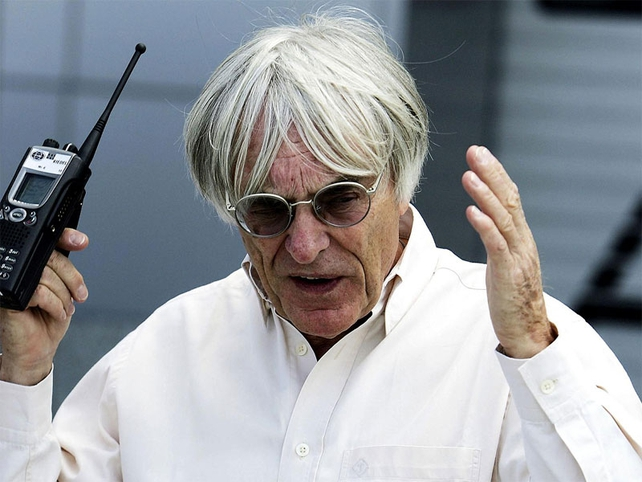 Bernie Ecclestone appears to have a fresh crisis on his hands