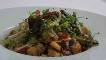 Cashel Blue Cheese Salad with Pancetta and Toasted Pine Nuts