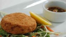 Crispy Chicken Pattie with Thai Relish
