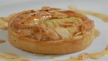 Warm Pear and Almond Tart