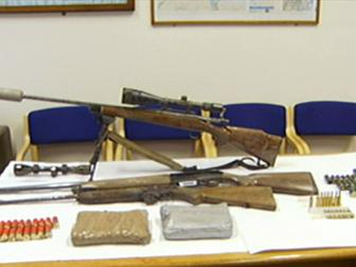 Arms haul - Searches carried out in Limerick