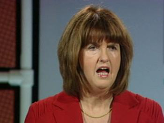Joan Burton - Claims 'breathtaking incompetence'