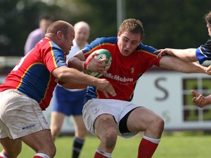 Tommy O'Donnell scored a try for UL Bohemians today