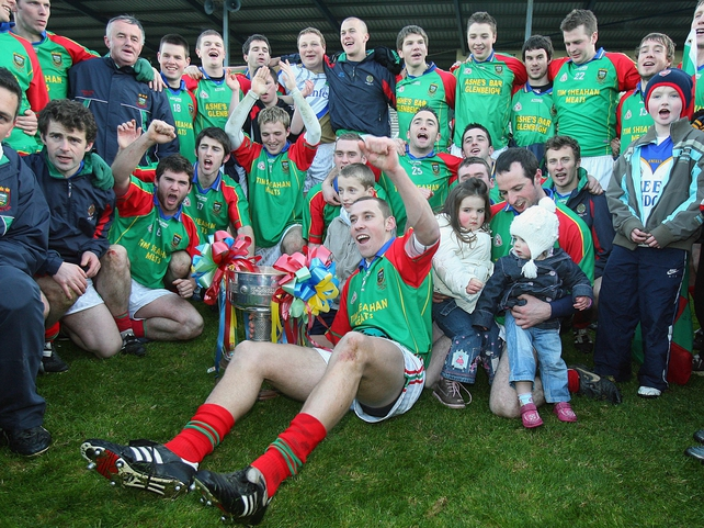 The victorious Mid Kerry team