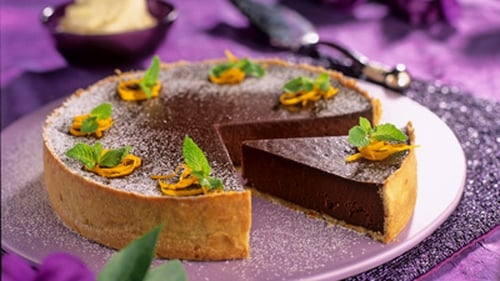 This tarte is rich and luxurious - chocolate decadence from the first crumb to the last!