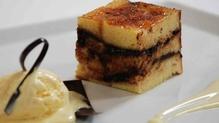 Chocolate Brioche Bread and Butter Pudding
