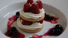 Berries With Shortcake Biscuits and Ricotta Cream - Dominic Mafham serves up delicious biscuits with ricotta cream.