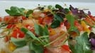 Salmon, monkfish and halibut ceviche - This wonderful blend of taste and colour would make a stunning starter to any dinner party