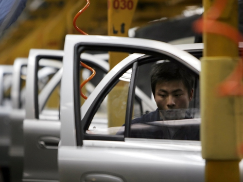 China output - Exporters hit harder