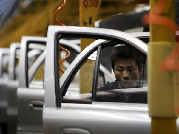 Chinese production - Growth accelerating