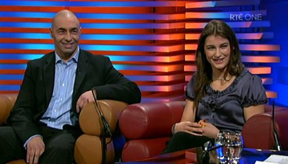 Peter and Katie Taylor on The Late Late Show, 2008