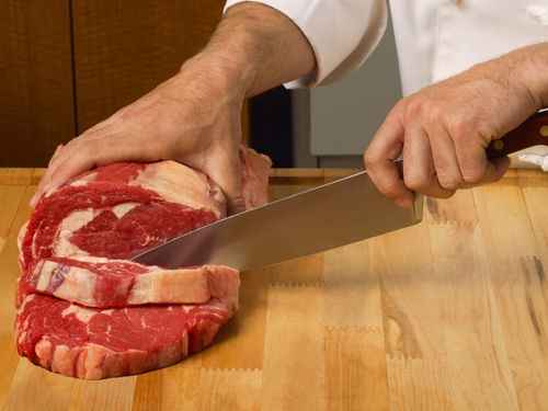 Beef - 'No risk to public health'