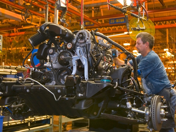 Manufacturing - US industrial production higher in September