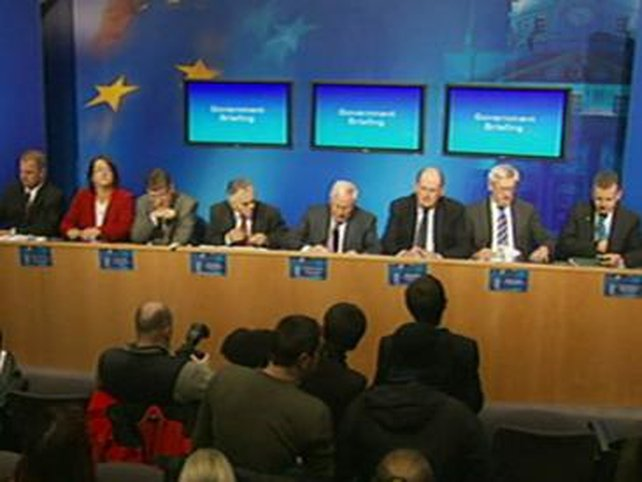 Dublin - Government news conference