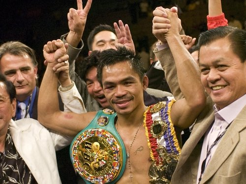 Manny Pacquiao has been named fighter of the decade