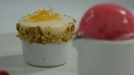 Chilled Lemon Soufflé With Melba Sorbet - Ciara O'Callaghan from Fair City serves up soufflé on The Restaurant.