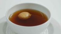 Beef Consommé With Foie Gras Profiteroles - Fair City's Ciara O'Callaghan serves up consomme