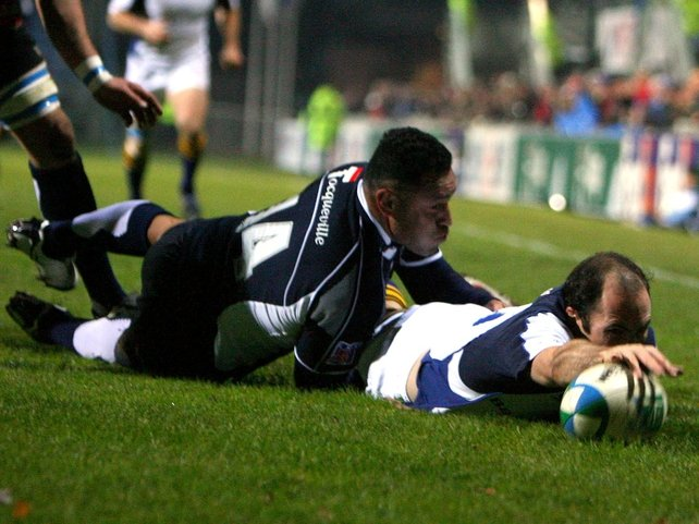 Girvan Dempsey's try was not enough for Leinster