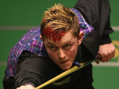 Mark Allen recorded the first ever 146 break at the Crucible today