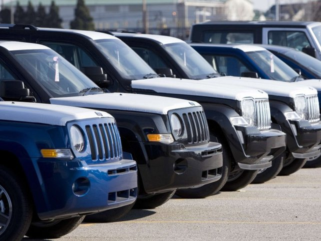 US car sales - 'Cash for clunkers' effect