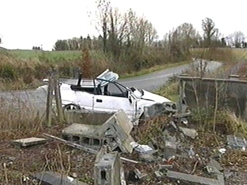 Millstreet - Driver of car is killed