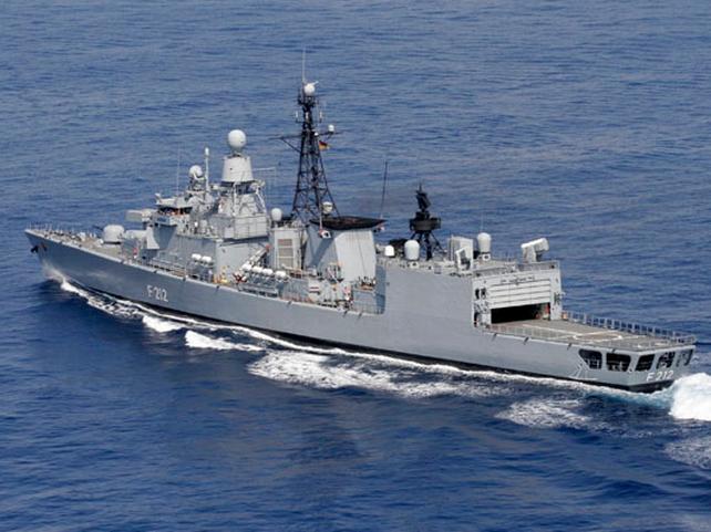 'Karlsruhe' - Joining EU naval force