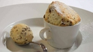 Brown Bread Souffle with Brown Bread Ice Cream - What a twist!