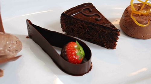 There'll be requests for encores from this dessert from it's name alone! Chocolate Symphony: indulgence at its best.