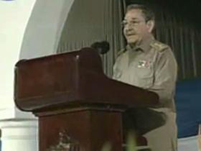 Raul Castro - Marked the 50th anniversary at a ceremony in Santiago