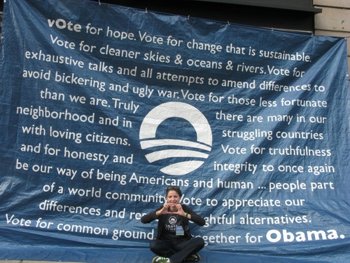 Lucy Carrigan - From Tipperary to Camp Obama