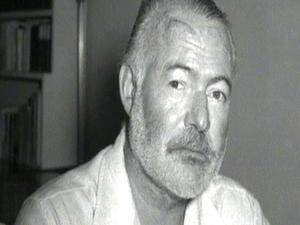 Reading Hemingway, by Brian Leyden