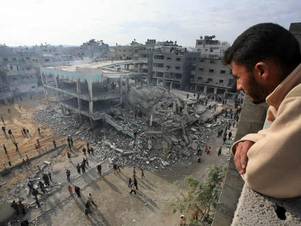 Gaza - Mosque destroyed in attack