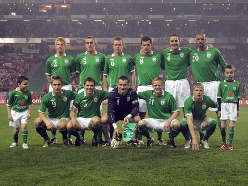 Republic of Ireland are now ranked 37th in the world