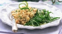 Warm Doolin Bay Shellfish Salad with Samphire - A great salad made with all-Irish ingredients.