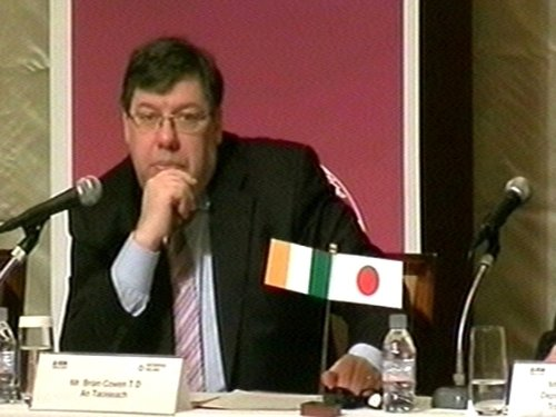 Brian Cowen - 'I have never said that'