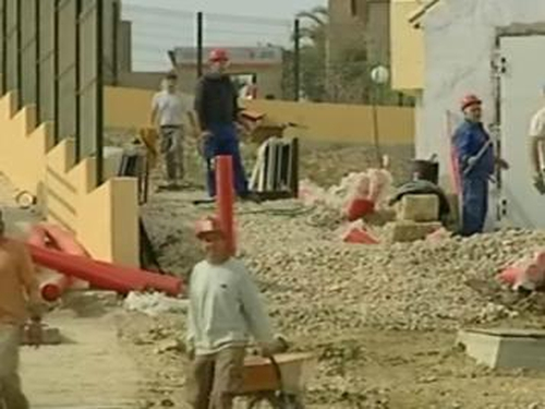 Spanish construction sector - Hit hard by joblessness