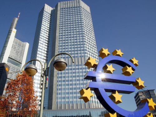 ECB - Euro zone rates set to hit as low at 1%